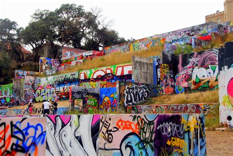 Castle Wall Murals graffiti park tx creative p1