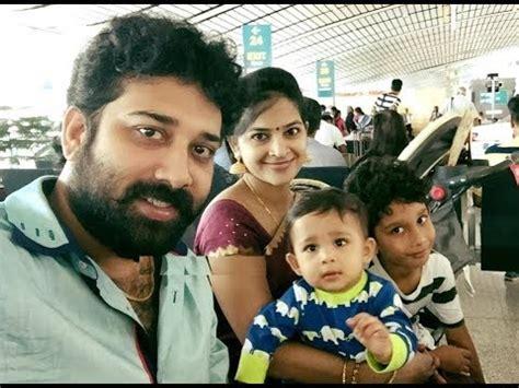 actor siva balaji family actor siva balaji and wife madhumitha with kids family