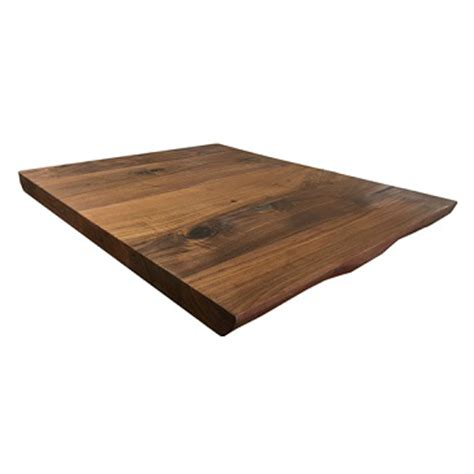 black walnut table top live edge walnut finish black walnut table top 2inch tablebasedepot