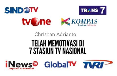 Tv Nasional motivator motivator terkenal dan terbaik di indonesia