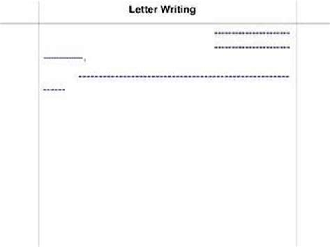 pattern of writing letter in hindi hindi letter writing youtube