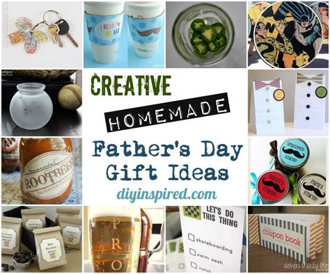 Handmade Gifts For Fathers Day - creative father s day gift ideas diy inspired