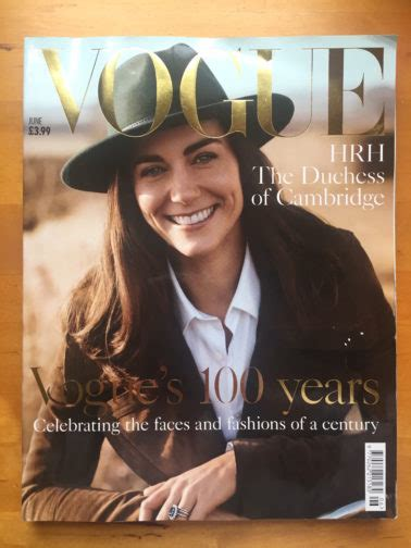 cover  vogue centenary issue june