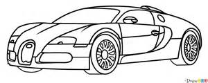 Draw A Bugatti How To Draw A Bugatti Veyron For How To Draw