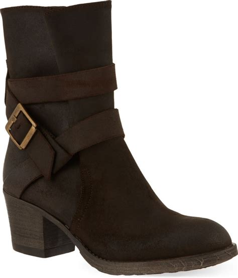 carvela boots for carvela kurt geiger silk suede ankle boots in brown lyst