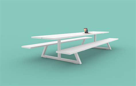 BuzziBreeze   The Picnic Table Goes Outdoors   BuzziSpace