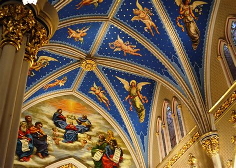 Notre Dame Ceiling by Travels Am Living The