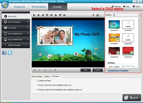 design photo slideshow best way to create dvd photo slideshow on windows with