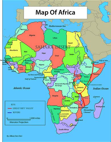 africa map labeled africa reference map banheraa