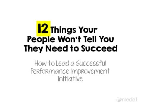 things they won t tell you the solution books 12 things your won t tell you they need to succeed