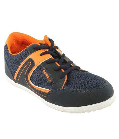 goldstar sports shoes goldstar orange canvas sports shoes price in india buy