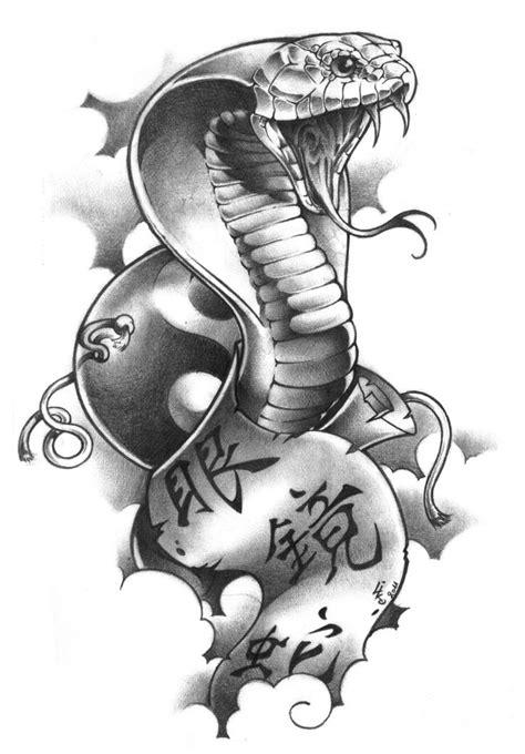 cobra tattoo design black outline cobra design photo 5 dibujos