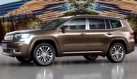 2019 jeep 7 passenger jeep grand commander revealed as new 7 seat suv for china