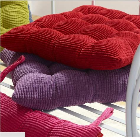 cord micro suede dining office chair cushion pad protector    color ebay