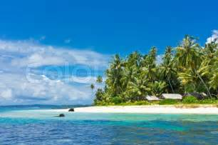 tropical island landscape stock photo colourbox