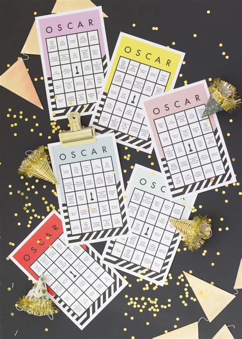 oscar printable bingo card  house  lars built
