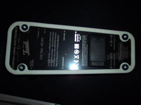 Effect Jim Dunlop Cae Wah Mc 404 dunlop mc404 cae wah image 341998 audiofanzine