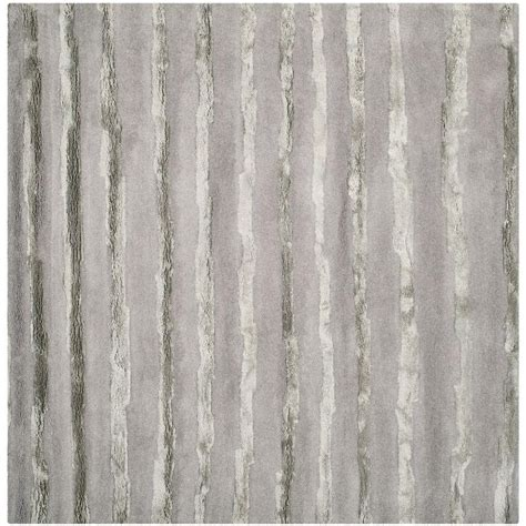 Safavieh Soho Grey Area Rug Safavieh Soho Grey 6 Ft X 6 Ft Square Area Rug Soh519a