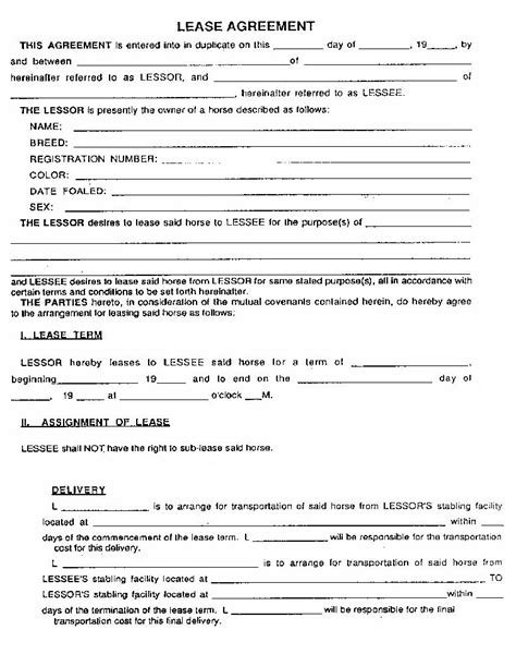 Order Best Price Generic Rental Agreement Template Online Without Rental Agreement Generic Contract Template