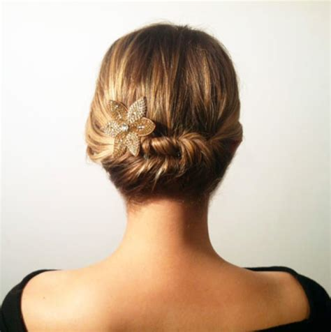 simple and easy hairstyle easy updo s that you can wear to work hairstyles