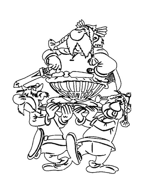 Asterix Coloring Pages