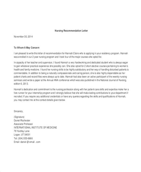 Letter Of Recommendation Ucf 40 recommendation letter templates in pdf free