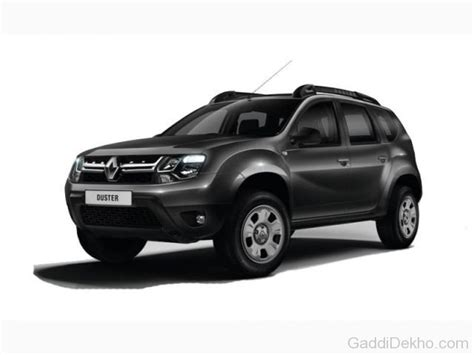 renault duster black renault duster facelift car pictures images