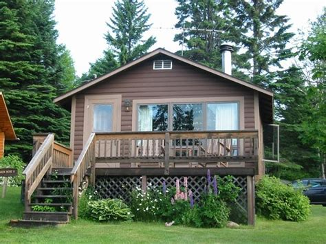 Cascade Lodge Cabins by Cabin Six With Deck Facing Lake Superior Picture Of