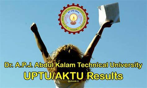 Aktu Mba Year Result 2017 by Uptu Results 2017 Uptu Ac In Apjaktu Even Sem B Tech Mba