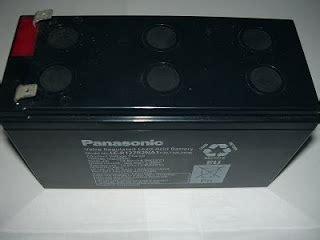 Baterai Panasonic 12v 7ah lariscom baterai ups baterai kering