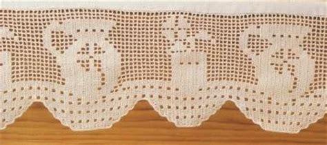 bordure uncinetto per mensole schemi per il filet bordi per mensole paperblog