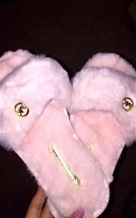 mk house shoes shorts rose slide shoes shoes michael kors pink slippers pretty cute love