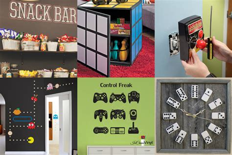decorated bedrooms games our favorite pins of the week game room decor porch advice
