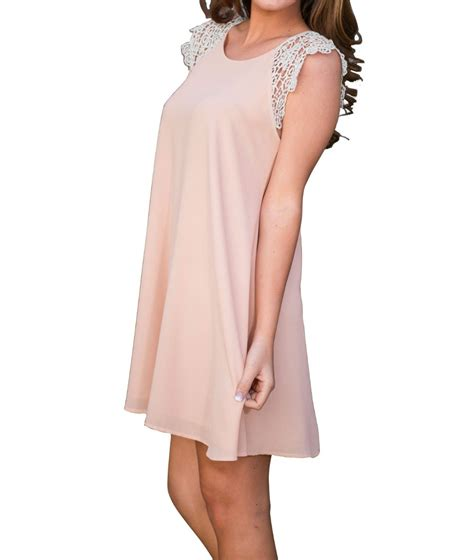 Pink Lace Summer S M L Dress sale summer fashion dress 2016 casual
