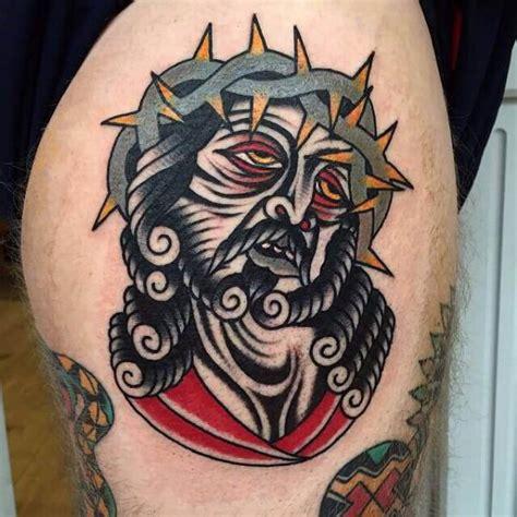 tattoo new york old school old school religi 246 s tattoo von cloak and dagger tattoo