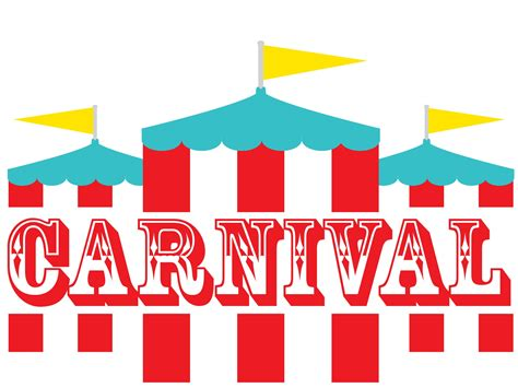 carnival signs template clipart best