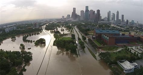 Search Houston Tx Flooding See Drone Footage Of Houston Flood Time