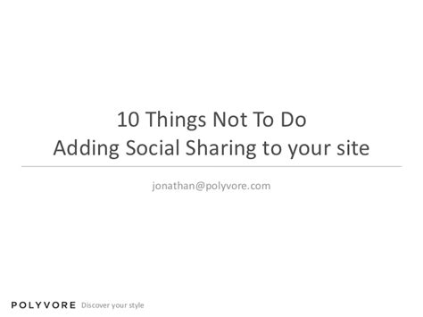 10 things not to do when remodeling your home freshome com 10 things not to do adding social sharing to your site