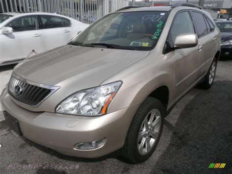 light gray lexus 2008 lexus rx 350 awd in savannah metallic photo 7
