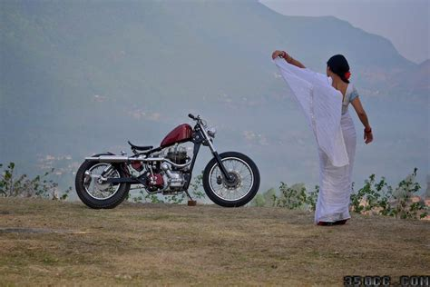 Bike Modification Rule In Nepal by Royal Enfield Bobber The Himalayan Outlaw 350cc