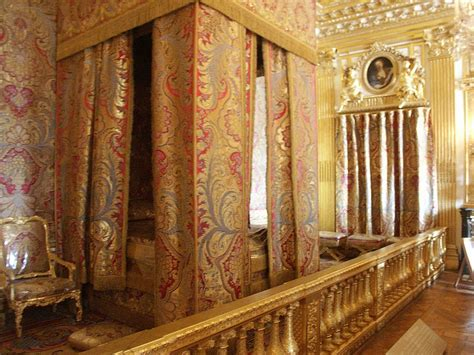 The Bedroom Place images of king and queen s bedrooms palace of versailles