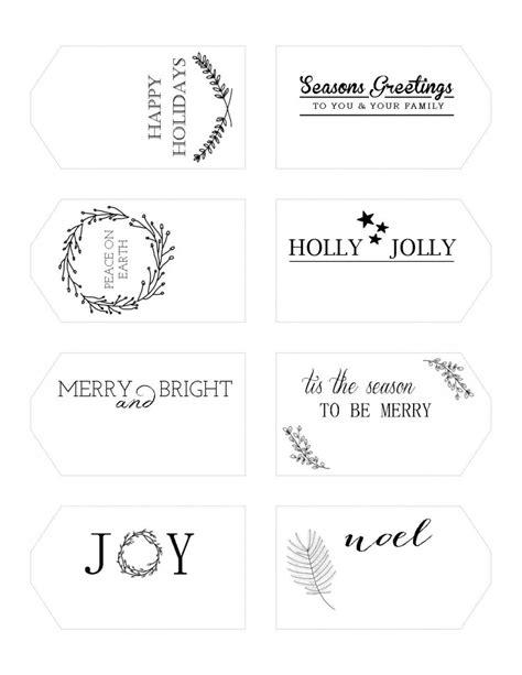 simple printable christmas gift tags printable holiday gift tags writefully simple