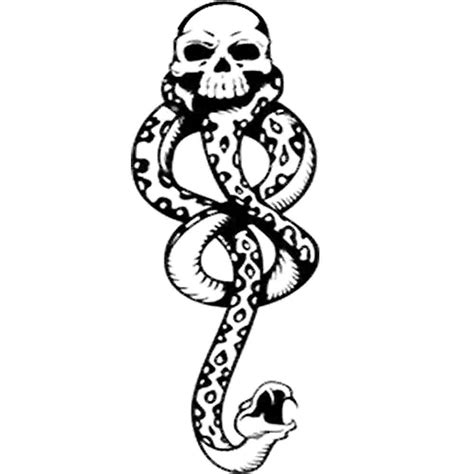 harry potter deatheater death eater temporary tattoo ebay