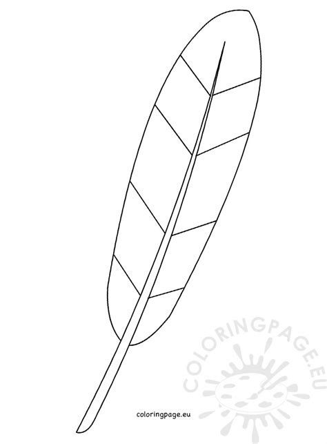 coloring page of a turkey feather turkey feather template coloring page
