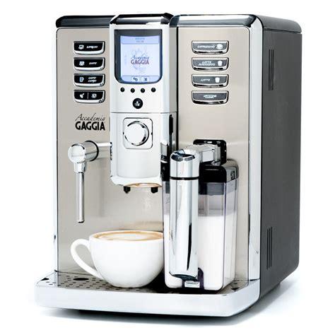 Coffee Maker Gaggia gaggia accademia espresso machine whole latte