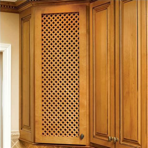 Kitchen Cabinet Door Inserts by Omega National Solid Wood Lattice Inserts Kitchen