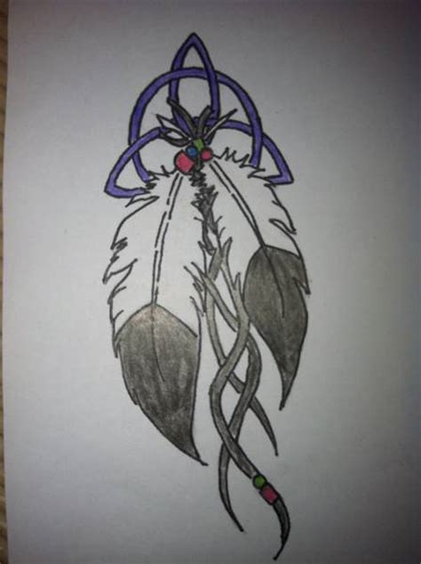 tattoo feather indian indian feather tattoo by kobloodrose on deviantart