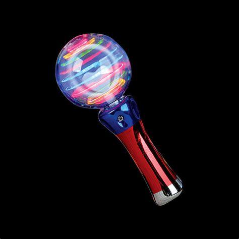 new light up spinning led wand ebay