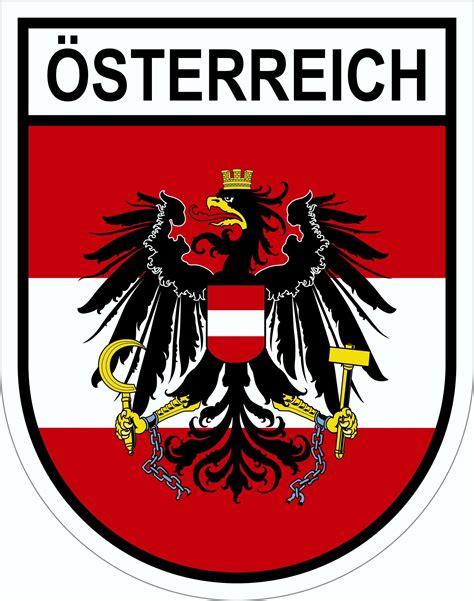 Autoaufkleber Sterreich Wappen by Aufkleber 214 Sterreich Wappen Dimension 45 X 35 Mm