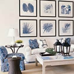 Coastal Home Inspirations On The Horizon Coastal Living Blue And White Living Room Decorating Ideas